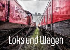 Loks und Wagen (Wandkalender 2021 DIN A2 quer) von 8,  Dock