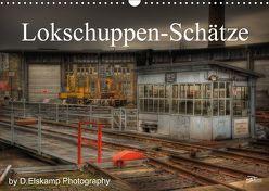 Lokschuppen-Schätze (Wandkalender 2018 DIN A3 quer) von Elskamp-D.Elskamp Photography,  Danny