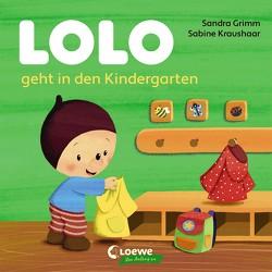 Lolo geht in den Kindergarten von Grimm,  Sandra, Kraushaar,  Sabine