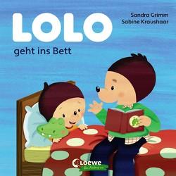 Lolo geht ins Bett von Grimm,  Sandra, Kraushaar,  Sabine