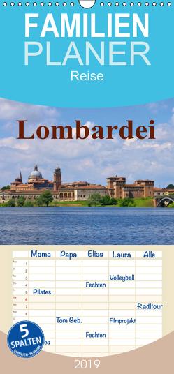 Lombardei – Familienplaner hoch (Wandkalender 2019 , 21 cm x 45 cm, hoch) von LianeM
