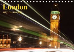 London • Impressionen (Tischkalender 2018 DIN A5 quer) von Stanzer,  Elisabeth