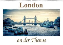 London an der Themse (Wandkalender 2020 DIN A2 quer) von Wenske,  Steffen
