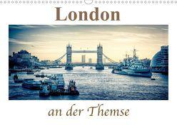 London an der Themse (Wandkalender 2020 DIN A3 quer) von Wenske,  Steffen