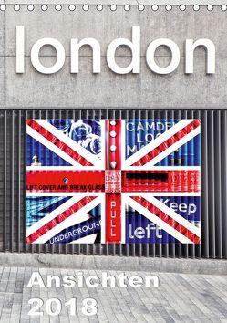 London Ansichten 2018 (Tischkalender 2018 DIN A5 hoch) von Holzhauser,  Monika