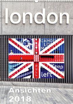 London Ansichten 2018 (Wandkalender 2018 DIN A3 hoch) von Holzhauser,  Monika