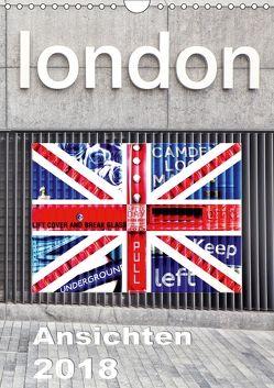 London Ansichten 2018 (Wandkalender 2018 DIN A4 hoch) von Holzhauser,  Monika
