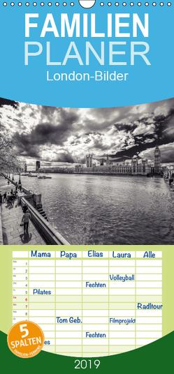 London-Bilder – Familienplaner hoch (Wandkalender 2019 , 21 cm x 45 cm, hoch) von Landsmann,  Markus
