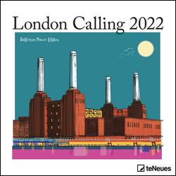 London Calling 2022 – Wand-Kalender – Broschüren-Kalender – 30×30 – 30×60 geöffnet