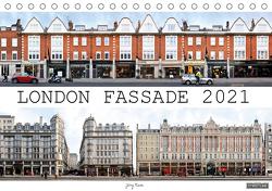 London Fassade 2021 (Tischkalender 2021 DIN A5 quer) von Rom,  Jörg