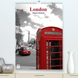 London – Impressionen (Premium, hochwertiger DIN A2 Wandkalender 2020, Kunstdruck in Hochglanz) von Bambach,  Hartwig