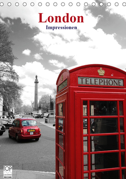 London – Impressionen (Tischkalender 2021 DIN A5 hoch) von Bambach,  Hartwig