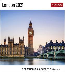 London Kalender 2021 von Harenberg