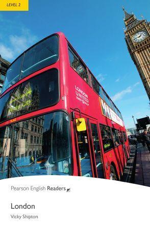 London – Leichte Englisch-Lektüre (A2) von Shipton,  Vicky