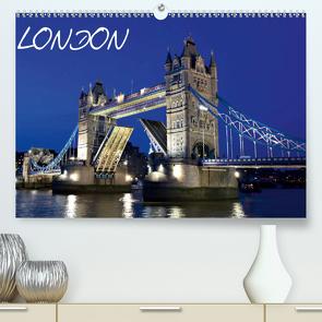 LONDON (Premium, hochwertiger DIN A2 Wandkalender 2021, Kunstdruck in Hochglanz) von Schonnop,  Juergen