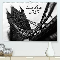 London (Premium, hochwertiger DIN A2 Wandkalender 2020, Kunstdruck in Hochglanz) von Silberstein,  Reiner