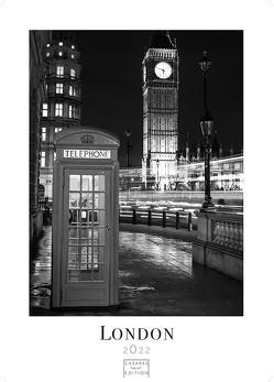 London schwarz-weiss 2022 L 59x42cm von Schawe,  Heinz-werner