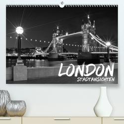 LONDON StadtansichtenCH-Version (Premium, hochwertiger DIN A2 Wandkalender 2021, Kunstdruck in Hochglanz) von Viola,  Melanie