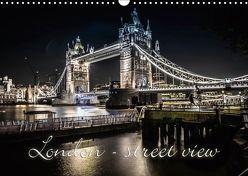 London – street view (CH-Version) (Wandkalender 2019 DIN A3 quer) von Schöb,  Monika, www.yourpagemaker.de, YOUR pageMaker,  ©
