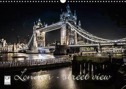 London – street view (Wandkalender 2019 DIN A3 quer) von Schöb,  Monika, www.yourpagemaker.de, YOUR pageMaker,  ©