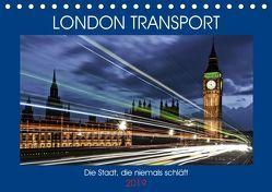 London Transport – Die Stadt, die niemals schläft (Tischkalender 2019 DIN A5 quer) von Robert,  Boris