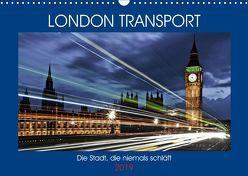 London Transport – Die Stadt, die niemals schläft (Wandkalender 2019 DIN A3 quer) von Robert,  Boris