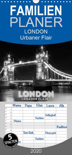 LONDON Urbaner Flair – Familienplaner hoch (Wandkalender 2020 , 21 cm x 45 cm, hoch) von Viola,  Melanie