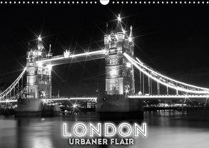 LONDON Urbaner Flair (Wandkalender 2018 DIN A3 quer) von Viola,  Melanie