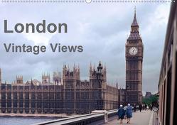 London – Vintage Views (Wandkalender 2021 DIN A2 quer) von Schulz-Dostal,  Michael