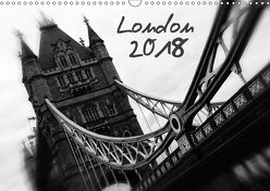 London (Wandkalender 2018 DIN A3 quer) von Silberstein,  Reiner