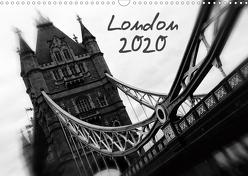 London (Wandkalender 2020 DIN A3 quer) von Silberstein,  Reiner