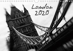 London (Wandkalender 2020 DIN A4 quer) von Silberstein,  Reiner