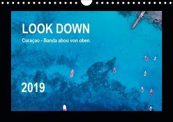 LOOK DOWN Curaçao – Banda abou von oben (Wandkalender 2019 DIN A4 quer) von - Yvonne & Tilo Kühnast,  naturepics