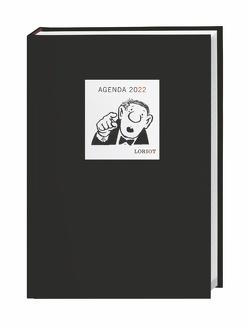 Loriot Agenda A5 Kalender 2022 von Heye, Loriot