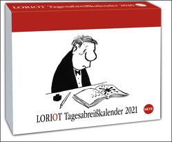 Loriot Tagesabreißkalender Kalender 2021 von Heye, Loriot