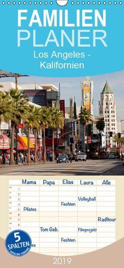 Los Angeles – Kalifornien – Familienplaner hoch (Wandkalender 2019 <strong>21 cm x 45 cm</strong> hoch) von Schickert,  Peter