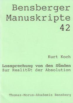 Lossprechung von den Sünden von Isenberg,  Wolfgang, Koch,  Kurt, Lennartz,  Stephan, Modler,  Peter