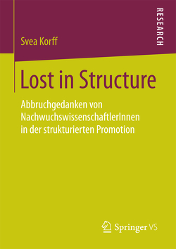 Lost in Structure von Korff,  Svea