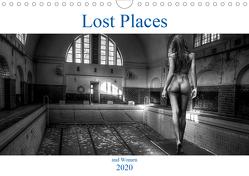 Lost Places and Women (Wandkalender 2020 DIN A4 quer) von Robert,  Boris