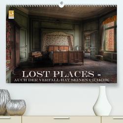 Lost Places – Auch der Verfall hat seinen Charme (Premium, hochwertiger DIN A2 Wandkalender 2021, Kunstdruck in Hochglanz) von Swierczyna,  Eleonore