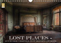 Lost Places – Auch der Verfall hat seinen Charme (Wandkalender 2019 DIN A4 quer) von Swierczyna,  Eleonore