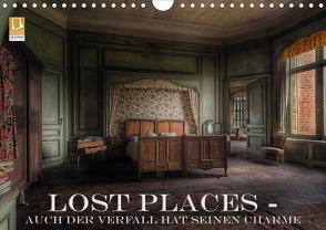 Lost Places – Auch der Verfall hat seinen Charme (Wandkalender 2021 DIN A4 quer) von Swierczyna,  Eleonore