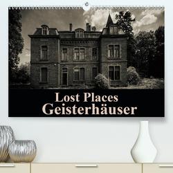 Lost Places Geisterhäuser (Premium, hochwertiger DIN A2 Wandkalender 2021, Kunstdruck in Hochglanz) von Buchspies,  Carina