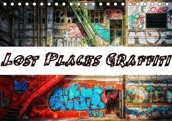 Lost Places Graffiti (Tischkalender 2019 DIN A5 quer) von Wallets,  BTC