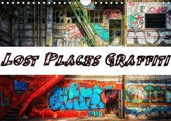 Lost Places Graffiti (Wandkalender 2019 DIN A4 quer) von Wallets,  BTC