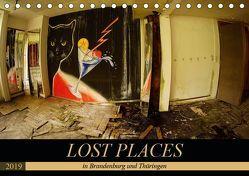 LOST PLACES in Brandenburg und Thüringen (Tischkalender 2019 DIN A5 quer) von Battenstein_qshlhasi,  Kathrin