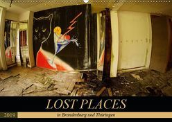 LOST PLACES in Brandenburg und Thüringen (Wandkalender 2019 DIN A2 quer) von Battenstein_qshlhasi,  Kathrin