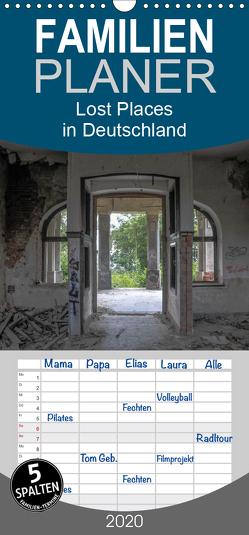 Lost Places in Deutschland – Familienplaner hoch (Wandkalender 2020 , 21 cm x 45 cm, hoch) von Schultes,  Michael