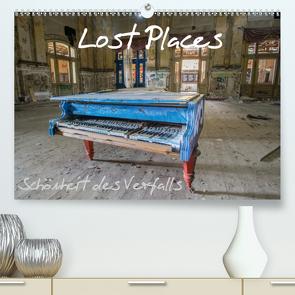 Lost Places – Schönheit des Verfalls (Premium, hochwertiger DIN A2 Wandkalender 2021, Kunstdruck in Hochglanz) von van Dutch,  Tom