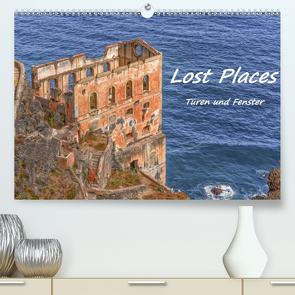Lost Places – Türen und Fenster (Premium, hochwertiger DIN A2 Wandkalender 2020, Kunstdruck in Hochglanz) von Hackstein,  Bettina